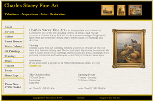 Online Art Gallery linked to PayPal