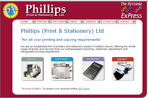 online stationery and printing website